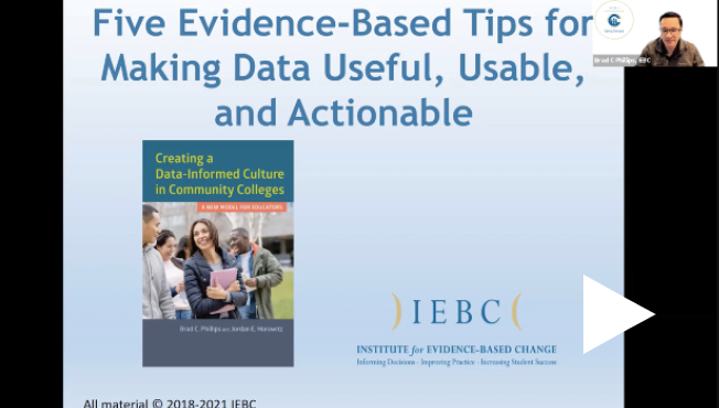 video thumb five evidence tips for data use webinar